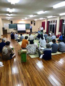 長田地区開催の交通安全研修会