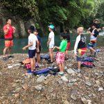 川遊び安全教室