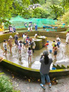 夏のヤマメ祭りが賑わっています