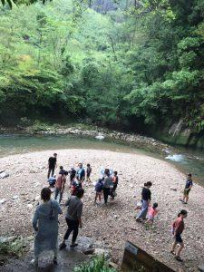 川遊び安全教室@しゃくなげの森