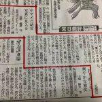 宮崎日日新聞に掲載