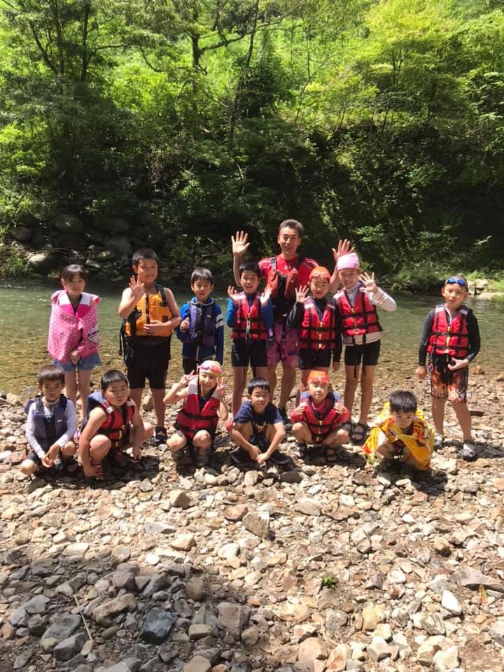 ワクワク川遊び安全教室