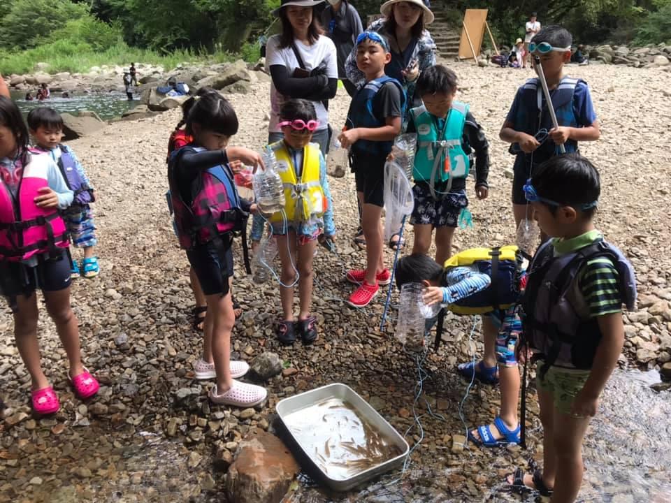魚とり教室